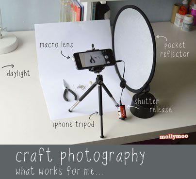 Каква техника се използва за продуктова фотография