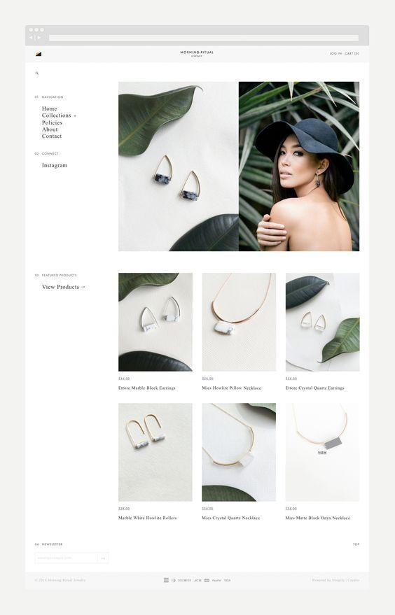 Product photography of jewelry