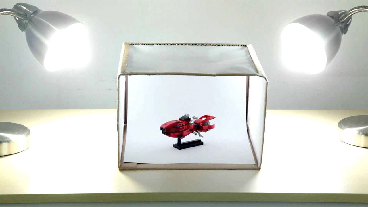 Lightbox product photography