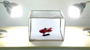 Какво представлява кутията за продуктова фотография?