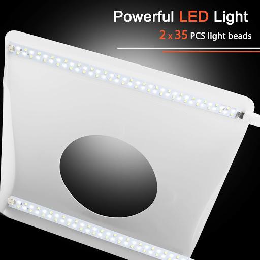 LED светлини при лайтбокс