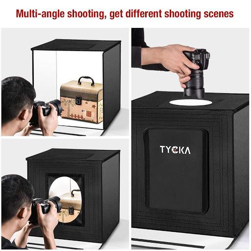 Заснемане на продуктова фотография с кутия