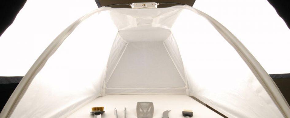 Палатката за продуктова фотография