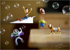 Продуктови снимки на играчки