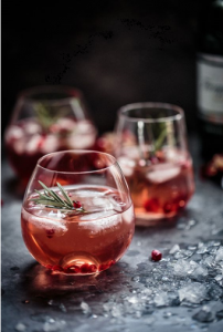 Product photos of cocktails