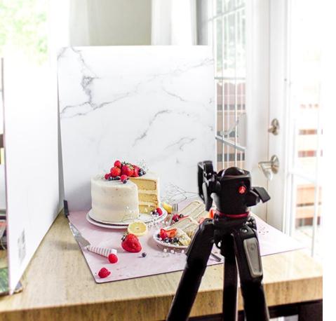 Маса за продуктова фотография