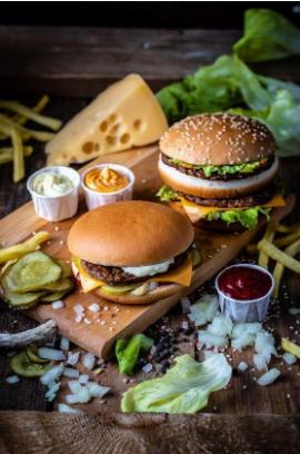 Продуктова фотография и апетитните бургери