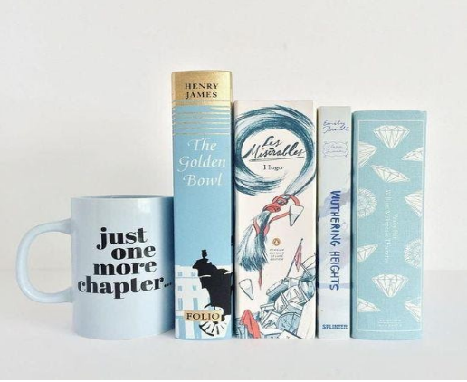 Product photography of books